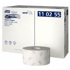 110255 Tork Premium туалетная бумага в мини-рулонах ультрамягкая, T2