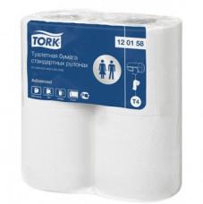 120158 Tork Advanced туалетная бумага в стандартных рулонах, T4