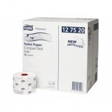 127520 Tork Premium туалетная бумага в компактных рулонах, система T6
