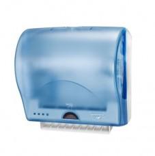 291000 Сенсорный диспенсер для полотенец в рулонах шириной 19,5см синий