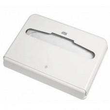 344080 Tork Elevation диспенсер для бумажных покрытий на унитаз, система V1, белый