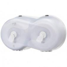 472028 Tork SmartOne® двойной диспенсер для туалетной бумаги в мини рулонах белый