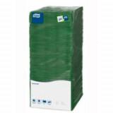 Столовые салфетки N96801 Tork 25 темно-зеленые, арт. 478659