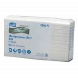 Нетканый материал Tork Premium 530 в салфетках, система W4, 530177