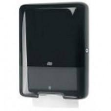 Tork Elevation диспенсер для листовых полотенец ZZ и C, система H3, чёрный 553008