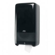 Tork Elevation диспенсер для туалетной бумаги в компактных рулонах, система T6, чёрный 557508