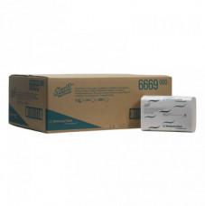 6669 Scott Xtra Бумажные полотенца для рук в пачке. Средняя упаковка