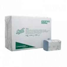 6682 Scott® Xtra Полотенца для рук, Сложенные, средняя упаковка, голубые