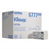 6777 Kleenex Ultra Бумажные полотенца для рук в пачке. Средняя упаковка