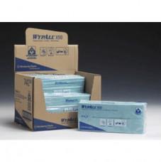7442 Wypall® Х50 Сложенные вчетверо. Цветные салфетки для использования в зонах питания.