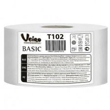T102 Туалетная бумага в больших рулонах Veiro Professional Basic