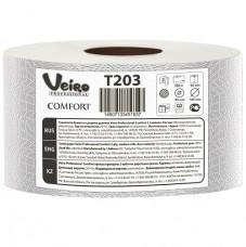 T203 Туалетная бумага в больших рулонах Veiro Professional Comfort