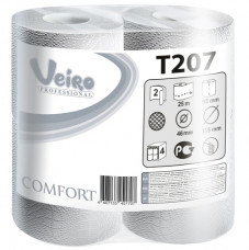 T207 Туалетная бумага в малых рулонах Veiro Professional Comfort
