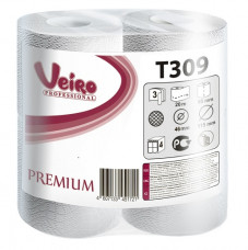 T309 Туалетная бумага в малых рулонах Veiro Professional Premium